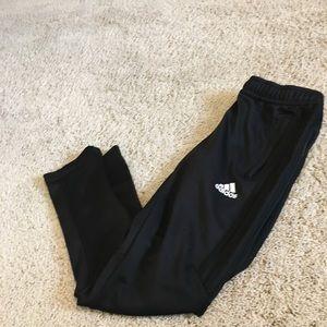 Boys size Small Adidas black sweat pants